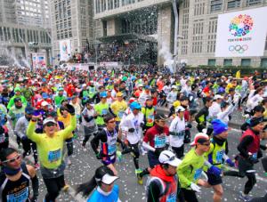 東京マラソン,2017,日程,エントリー,申込,抽選,倍率
