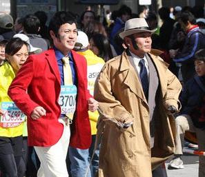 東京マラソン,コスプレ,仮装