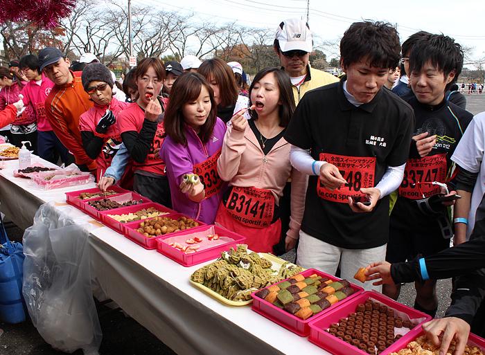スイーツマラソン,2016,東京,感想,注意点
