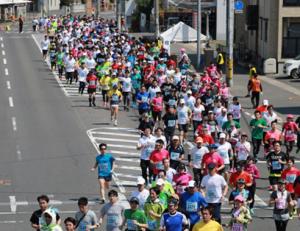 岡山マラソン2017,日程,エントリー,申込開始日,応募倍率