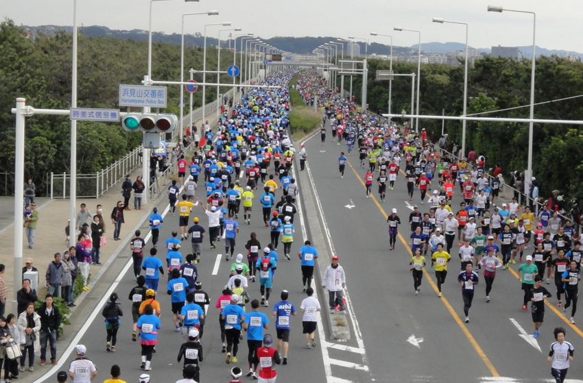 湘南国際マラソン,2016,日程,エントリー,申込,開始,コース