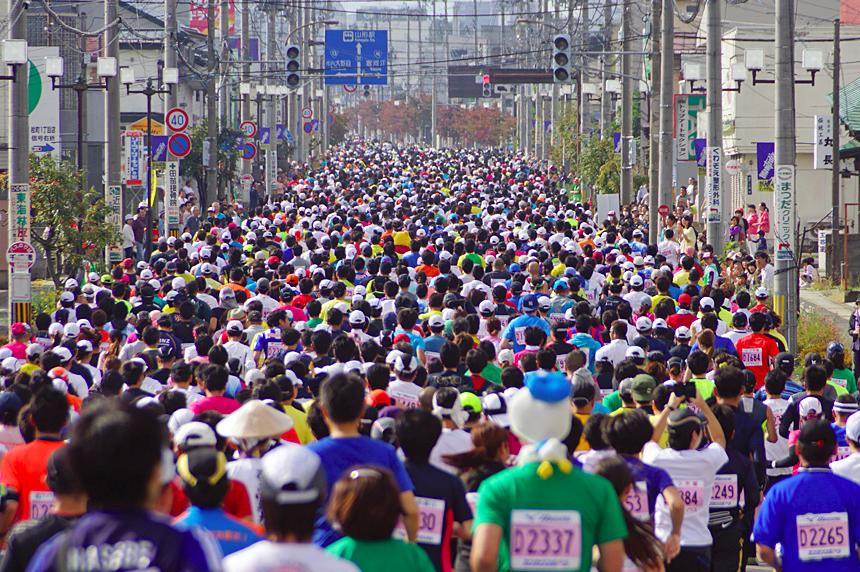 山形マラソン,2016,日程,エントリー開始日,コース