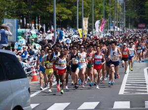 仙台国際ハーフマラソン,2017,日程,エントリー,開始日,コース