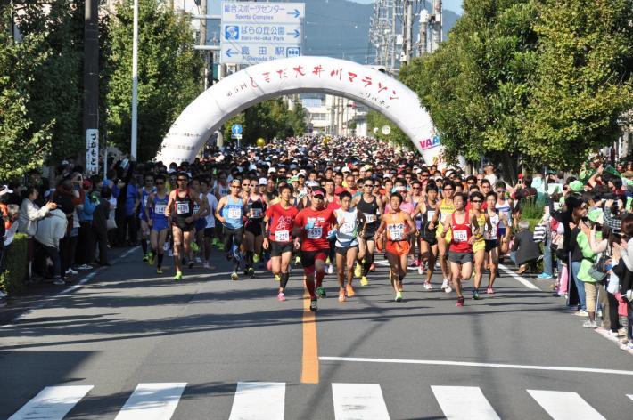 島田大井川マラソン,2016,日程,エントリー日,コース,制限時間
