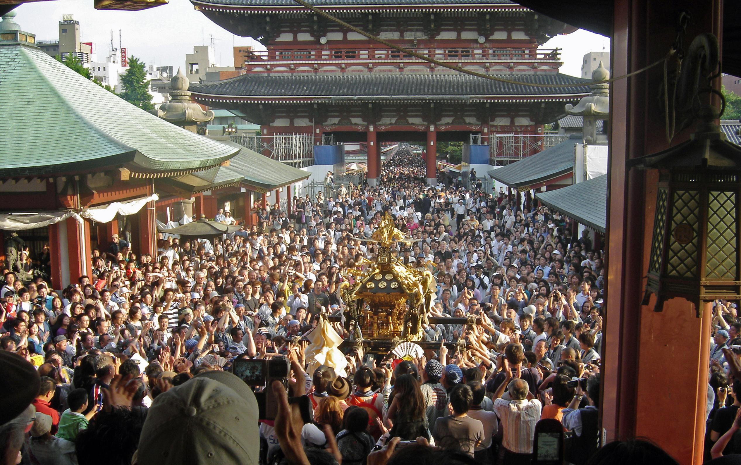 浅草神社,三社祭,2017,日程,時間,見どころ,感想,交通規制,駐車場