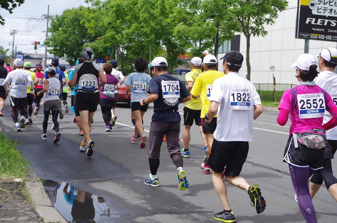 釧路湿原マラソン2017,日程,エントリー,定員,コース