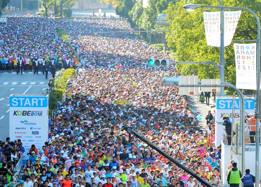 神戸マラソン,2017,日程,エントリー開始日,コース,制限時間